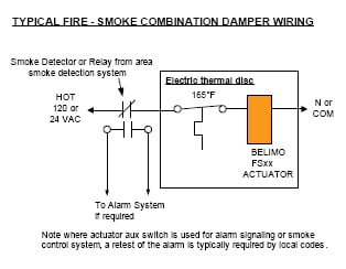 dn_fireandsmoke?t\=1511207780240 damper motor wiring diagram 12v linear actuator wiring diagram honeywell vent damper wiring diagram at creativeand.co