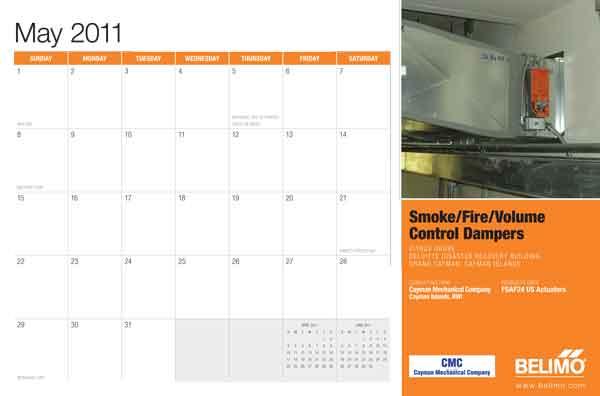 Belimo Calendar