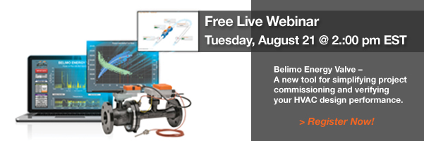 Belimo Free Energy Valve Webinar