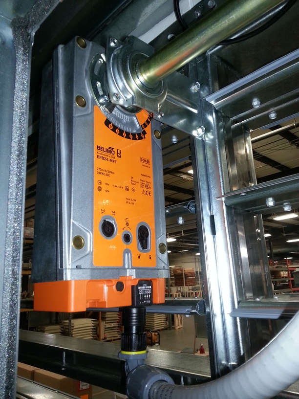 Importance of Dampers and Actuators in HVAC Systems